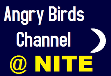Angry Birds Channel At Nite Logo