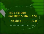 UToons TV Next bumper - Cartoon Cartoon Show to Naruto (June 2009)