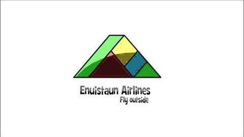 Enuistaun Airlines Logo Animation from 2010-2015