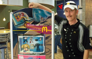 McDonald's Happy Meal poster at RKO food store 2009