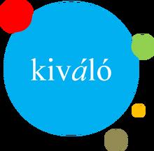 Kiváló TV's third and current logo (2010-)
