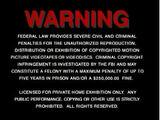 Nick Jr. Home Entertainment/Warning Screens