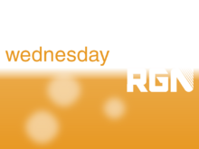 RGN Wednesday promo 2003