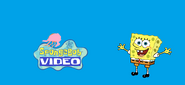 Spongebob Video first logo blue