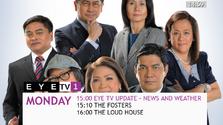 Eye tv1 menu monday