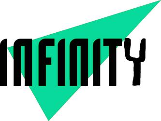 Infinity Minecraftia logo 1992