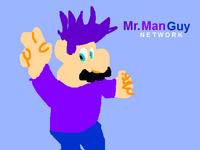 Mr. Man Guy Network logo