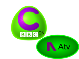CBBC on atv 2005 logo