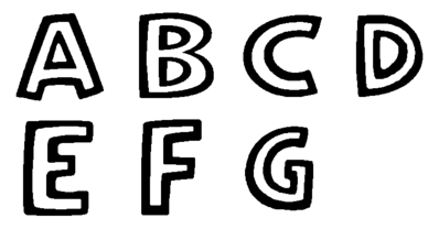 UToons TV Powerhouse alphabet