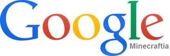 Google Minecraftia Logo 2013