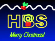 HBS Christmas ident 1984