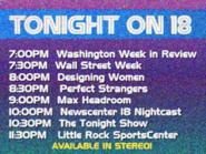 KWSB tonight 1987 2