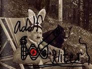 WAHX-TV 16 New York Christmas Tape (1982) - Adolf Hilter draws the ABC logo (sketch)