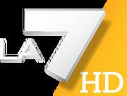 LA7 HD - Logo 2011