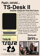 TS-Desk II Ad (1975)