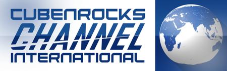 CubenRocks Channel International 2018 logo