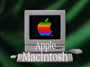 Apple Macintosh Hokusei Mujuki Kyojin and Shokugeki TVC 1991