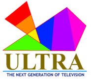 Ultra TV prelaunch logo 3 1995