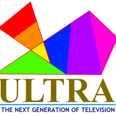 Another prelaunch logo, used from December 1996 until March 1997. Became rainbow logo, then slogan was