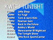 KWSB tonight Jan 1992