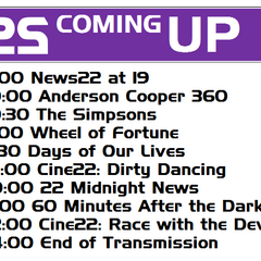 Coming Up bumper on April 24, 2011.