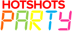 HotShots Party logo since 2009