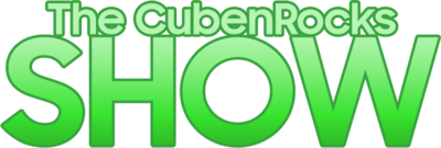 The CubenRocks Show 2018 logo