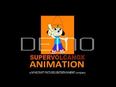 SuperVolcanoX Animation New Logo
