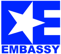 Embassy current print logo