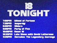 KWSB tonight 1996