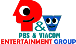 PBS & Viacom Entertainment Group logo