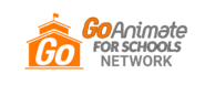 GoAnimate for Schools Network logo (2010-2013, and 2017-present)