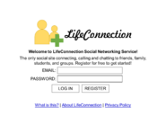 LifeConnection webpage 1990