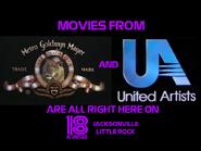 KWSB MGM and UA ident 1992