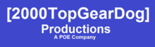 2000TopGearDog Productions logo