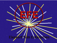 Elepeart Film Enterprises logo - Mighty Spaceman