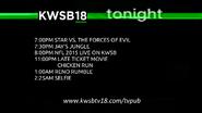 KWSB 18 lineup 2015 october