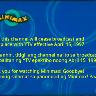 Final message before replacing with YTV. (1997)