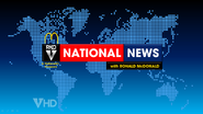 RKO National News with Ronald McDonald open on This Hour Has America's 22 Minutes
