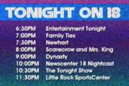KWSB tonight EARLY 1984