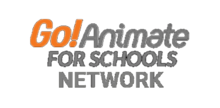 Go!Animate for Schools Network logo (1987-1989)