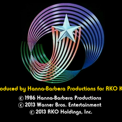 <i>RKO Kids/Hanna-Barbera</i> endboard in 1986 (2013 plastering).