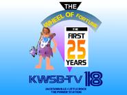 KWSB WOF 25 years ident 2000