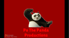 Po The Panda Productions Logo