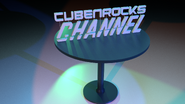 CubenRocks Channel (Logo on a Table)
