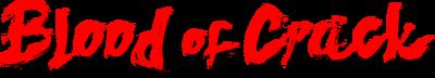 Blood of Crack logo