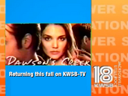 KWSB dawsons creek promo 2000