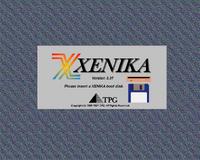 Xenika Version 3 startup screen