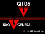Q105 ident 1986