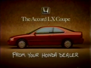 Honda Accord LX Coupe EK TVC 1994